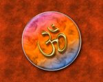 aum_golden_in_colored_circle_wallpaper