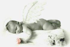 Ángel durmiendo