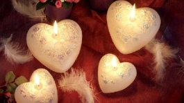 Candle-hearts